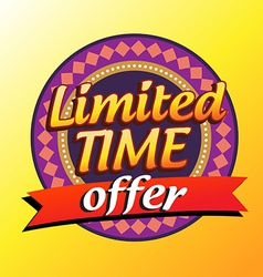offer sale vector image vector image