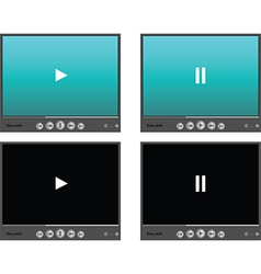 Media player skins vector