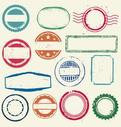 Stamps frames vector