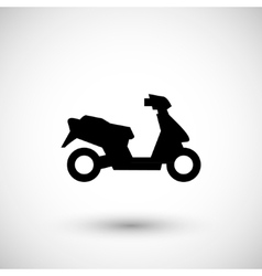 Modern scooter icon vector
