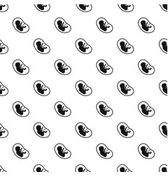 Fetus pattern vector