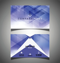 modern business card design 2010 vector image vector image
