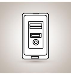 Smartphone business design vector