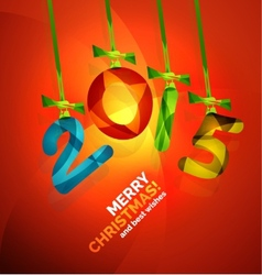 Happy new year concept vector
