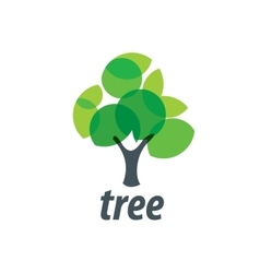 Logo tree vector