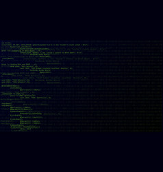 abstract background with program code vector image