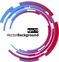 Circle abstract vector image