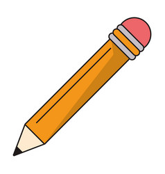 pencil supply writing idea vector image