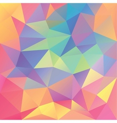 Abstract geometrical polygonal background vector