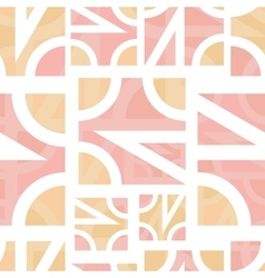 Abstract geometric seamless vector