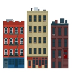 Ny buildings vector