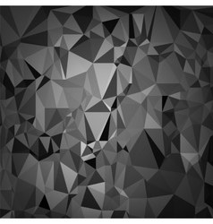 Abstract digital polygonal grey background vector