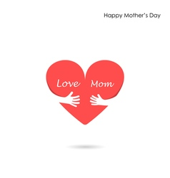 Mother day icon logo holiday icon logo heart icon vector
