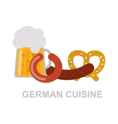 German food vector