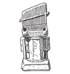 Pottery model of the water organ is a type of vector