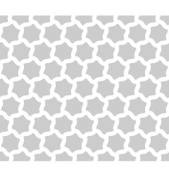 Seamless background of curved hexagons vector