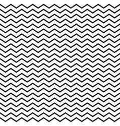 Seamless monochrome geometric triangular pattern vector image vector image