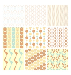 Seamless pattern and wallpaper vector