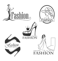 Fashion logo symbol for your design vector