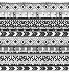 Hand drawn boho seamless pattern vector