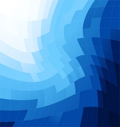 Blue abstract background square vector image vector image