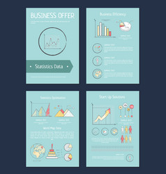 business offer and efficiency vector image
