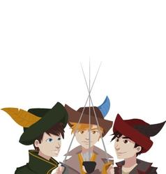 Musketeers vector