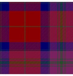 Pride of scotland autumn tartan fabric texture vector image vector image