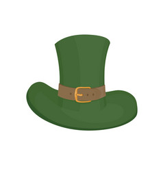 Saint patricks hat symbol hand drawn vector
