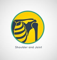 Shoulder and Joint Logo vector image vector image