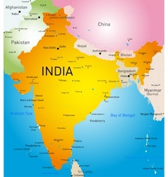 India country vector image