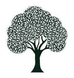 Leaf tree vector