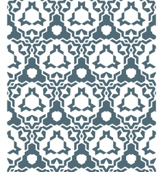 Abstract geometric monochrome seamless pattern vector