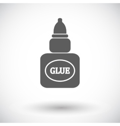 Glue icon vector