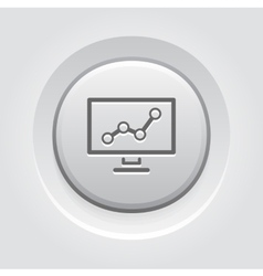Business analytics icon concept vector
