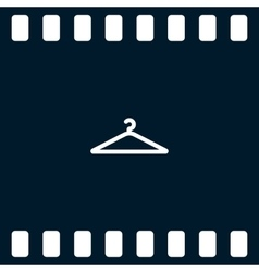 Hanger flat icon vector