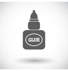 Glue icon vector