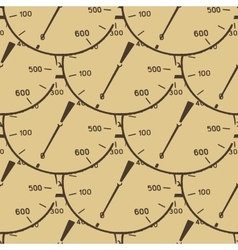 Pattern of a pressure meter gauge vector image