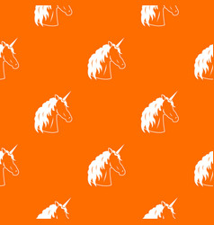 unicorn pattern seamless vector image