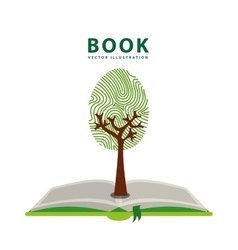 Green book vector