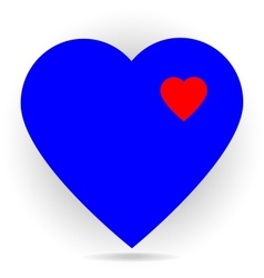 hearts vector image
