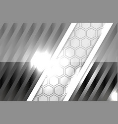Modern style abstract grey background vector