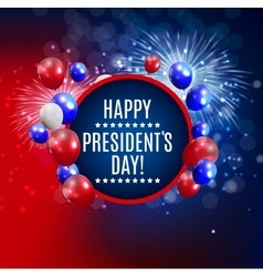 Presidents day in usa background can be used as vector