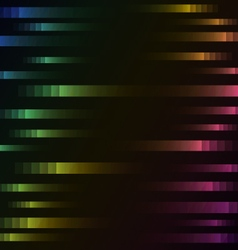 Rainbow color of abstract pixel speed background vector