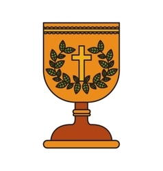 Holy grail icon vector