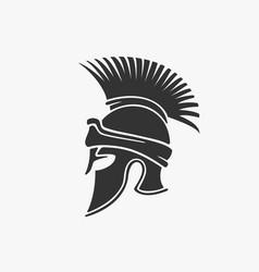 ancient military helmet vector image vector image