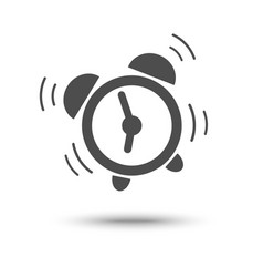 wake up icon vector image vector image