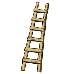 ladder vector image vector image