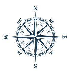 Wind rose vector