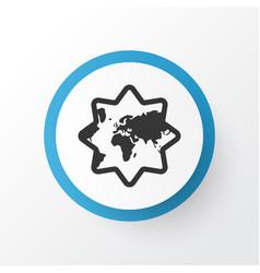 Islamic icon symbol premium quality isolated vector